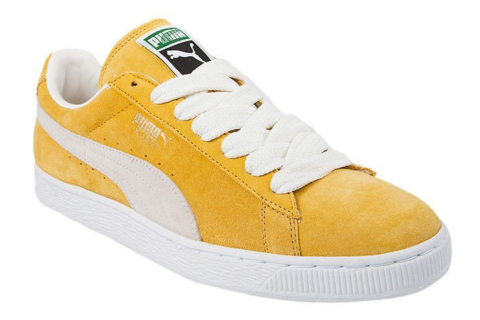 ??????? puma suede classic yellow