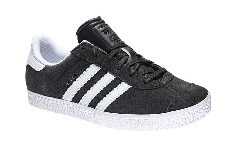 Adidas Gazelle Black Orange Casual Shoes Product