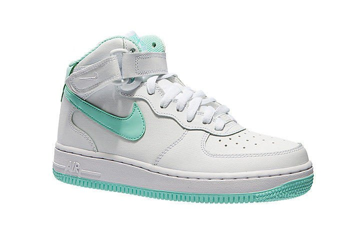 Nike Air Force 1 Mid Schuhe Weiß Damen