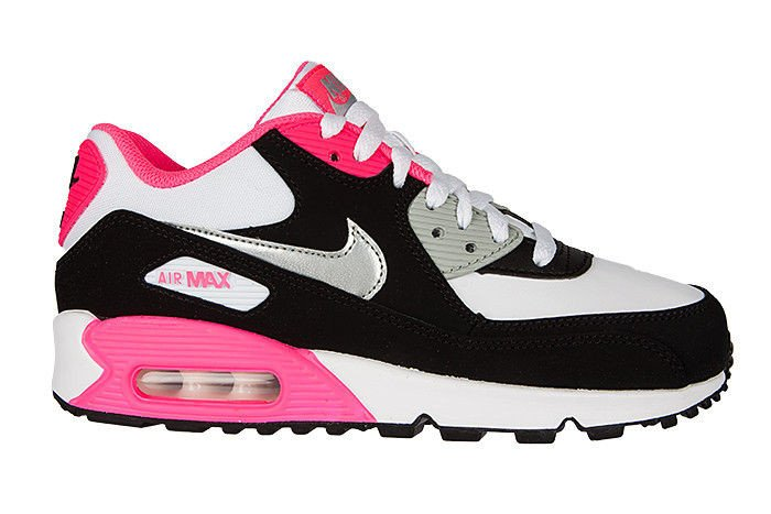 a3f4d2f13b12 Nike Air Max 90 Hyper Pink Gs
