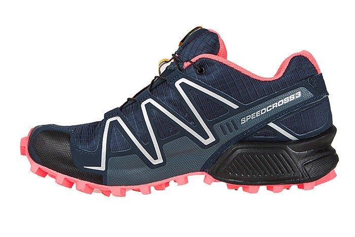 Salomon speedcross 4 gtx scarpe da trail running medieval blueacid limegraphite zalando neri sintetico