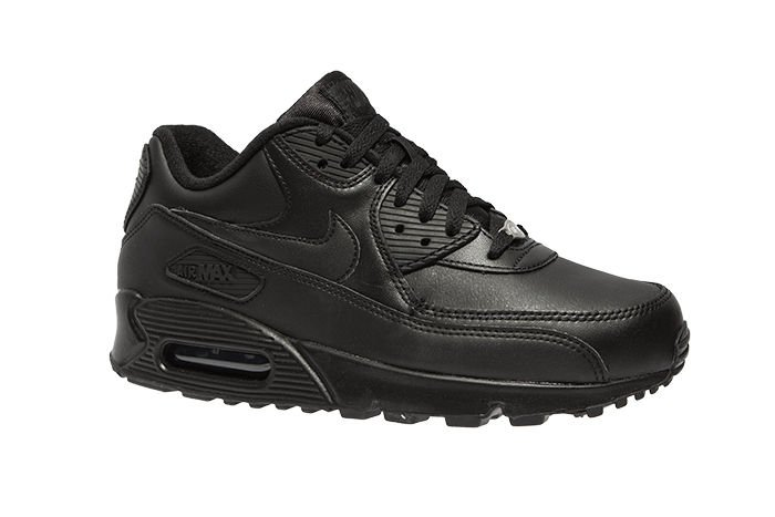 Nike Air Max 90 Leather PA Men's Shoes BlackBlack | eBay