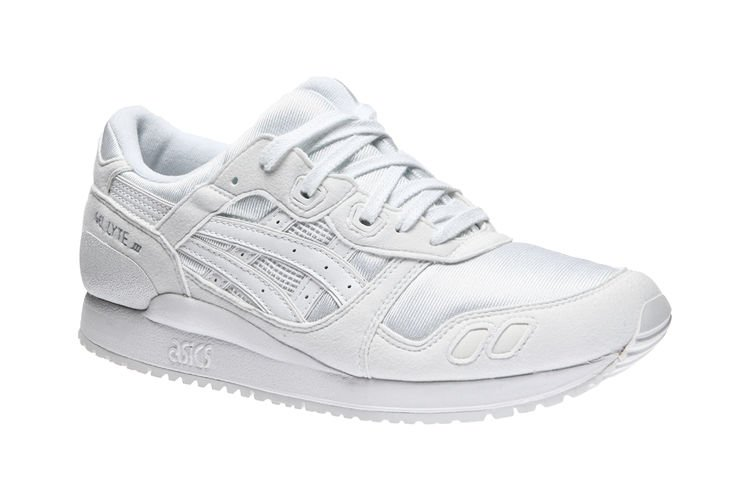 Buy Asics Gel Lyte III Gs C5A4N 0101, Kids, White, sneakers
