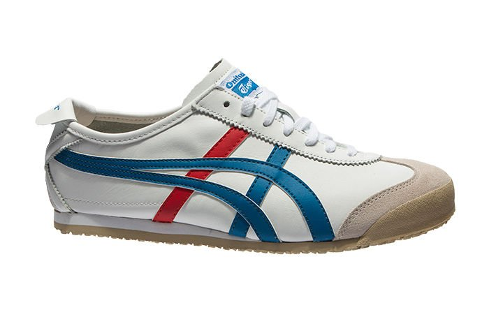 onitsuka tiger mexico 66 white red blue 95