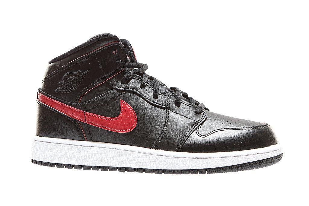 new products e1135 40acd ... Nike Air Jordan 1 Mid (BG) 554725-009 ...