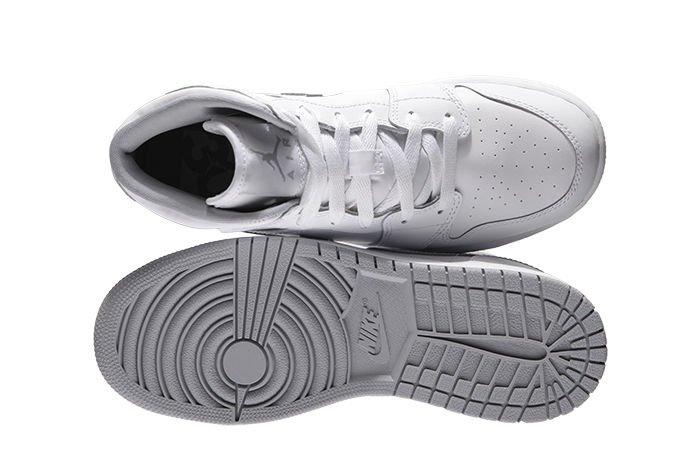 new concept 681bc 1ca70 ... Nike Air Jordan 1 Mid (BG) 554725-112