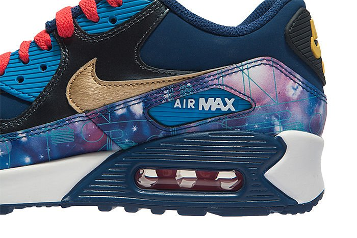 buy online 9e990 8d1cb ... coupon code for nike air max 90 prem ltr gs 724879 004 galactic 2482a  e7303