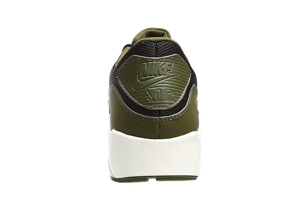 Nike Air Max 90 Ultra 2.0 Black Legion Green Sail Mens