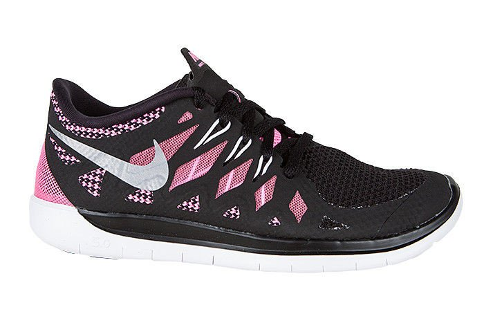 outlet store d9caa 029f1 new zealand nike free 5.0 black junior 82616 34222