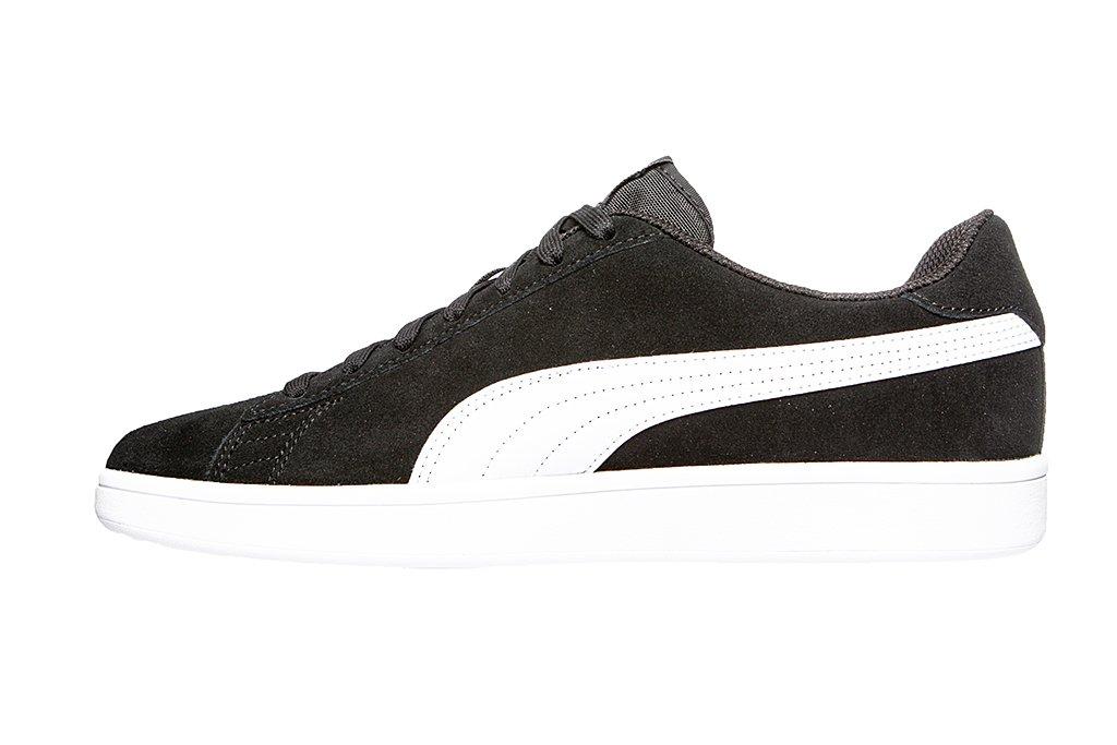 PUMA Smash v2 Sneaker Black Puma White Puma Silver UK