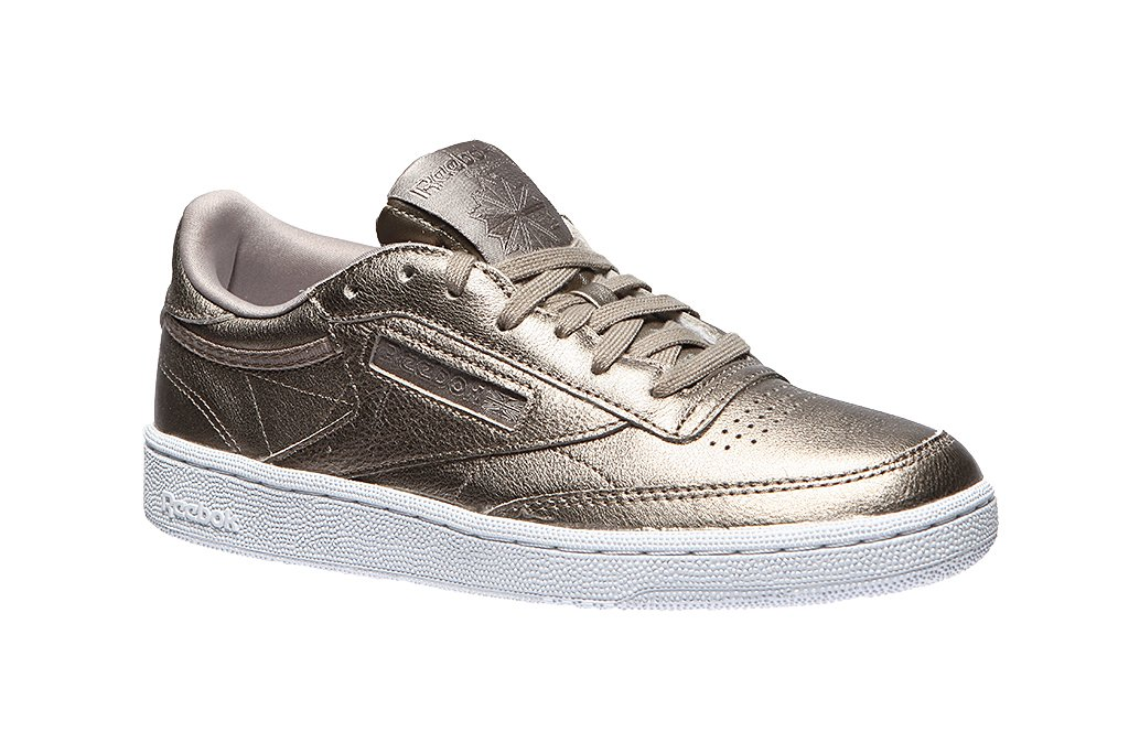 Details about NEW Women's Reebok Classic Club C 85 Melted Metal FREE SHIPPING