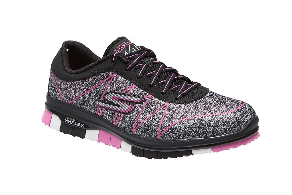 Skechers Go Flex Ability Women's Sneaker Shoes Fitness Shoes Walk Black 14011