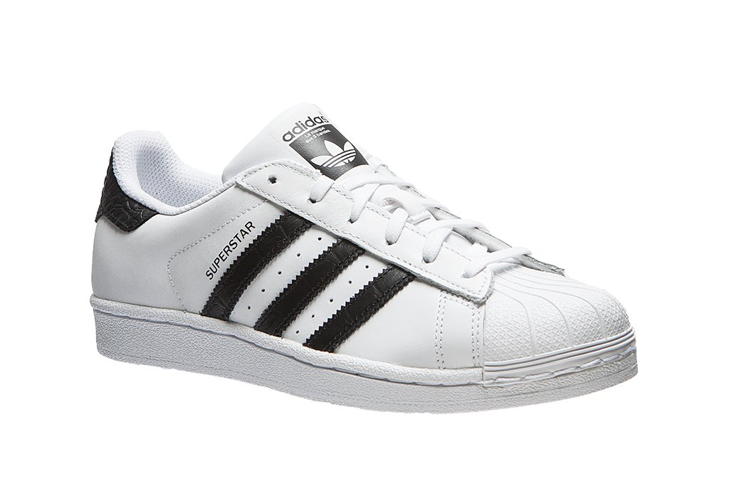 adidas superstar white with glitter stripes adidas superstar ...