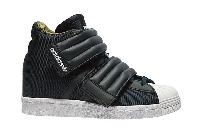 Adidas Originals Superstar Up W White Black Gold Metallic, Adidas