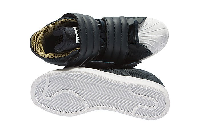 Cheap Adidas Originals Superstar Bold Platform W White Gold Women