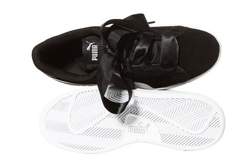 Puma Smash v2 Ribbon Jr 366003-01