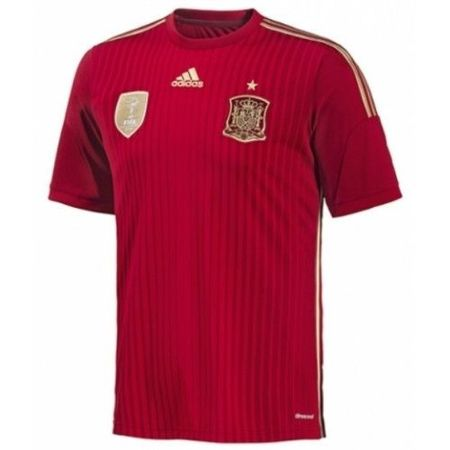 adidas Spain 2013-14 Official Home Soccer Jersey G85279