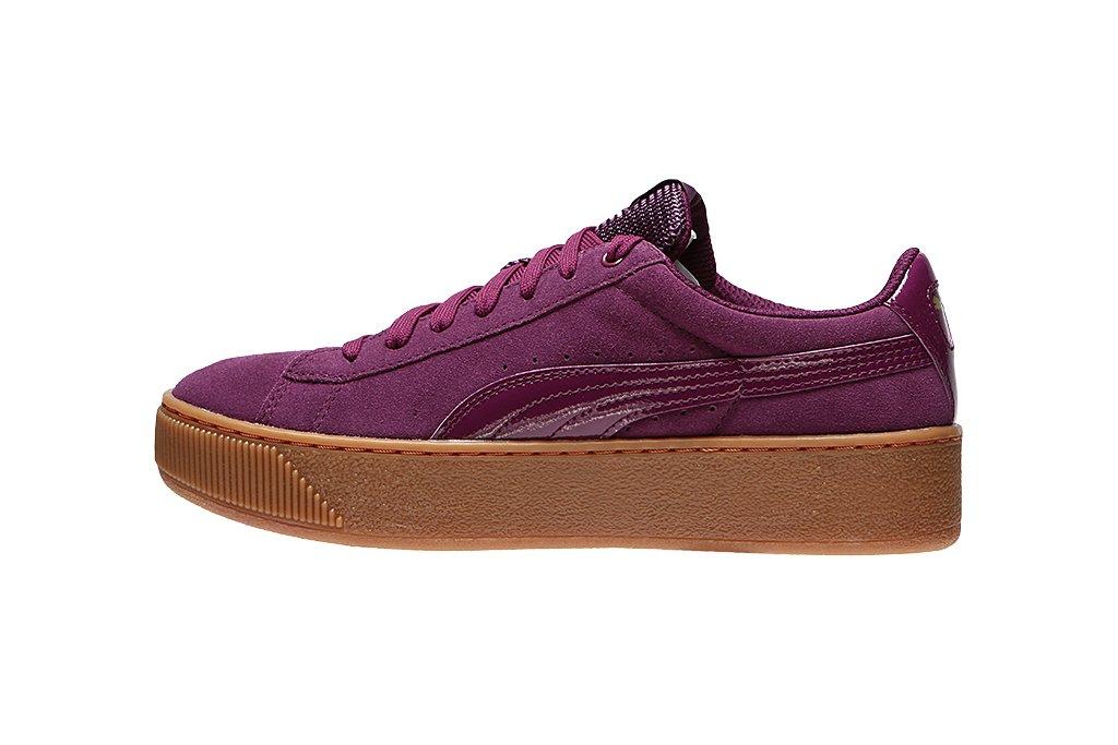 PUMA VIKKY PLATFORM Leder Sneaker Damen Schuhe 363287 08