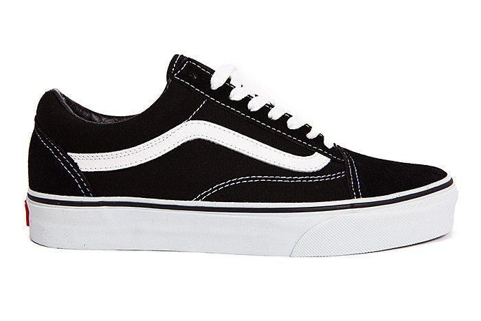 vans old skool black damen weiß