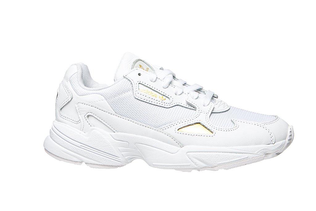 Adidas Falcon Damen Sneaker Schwarz Weiss
